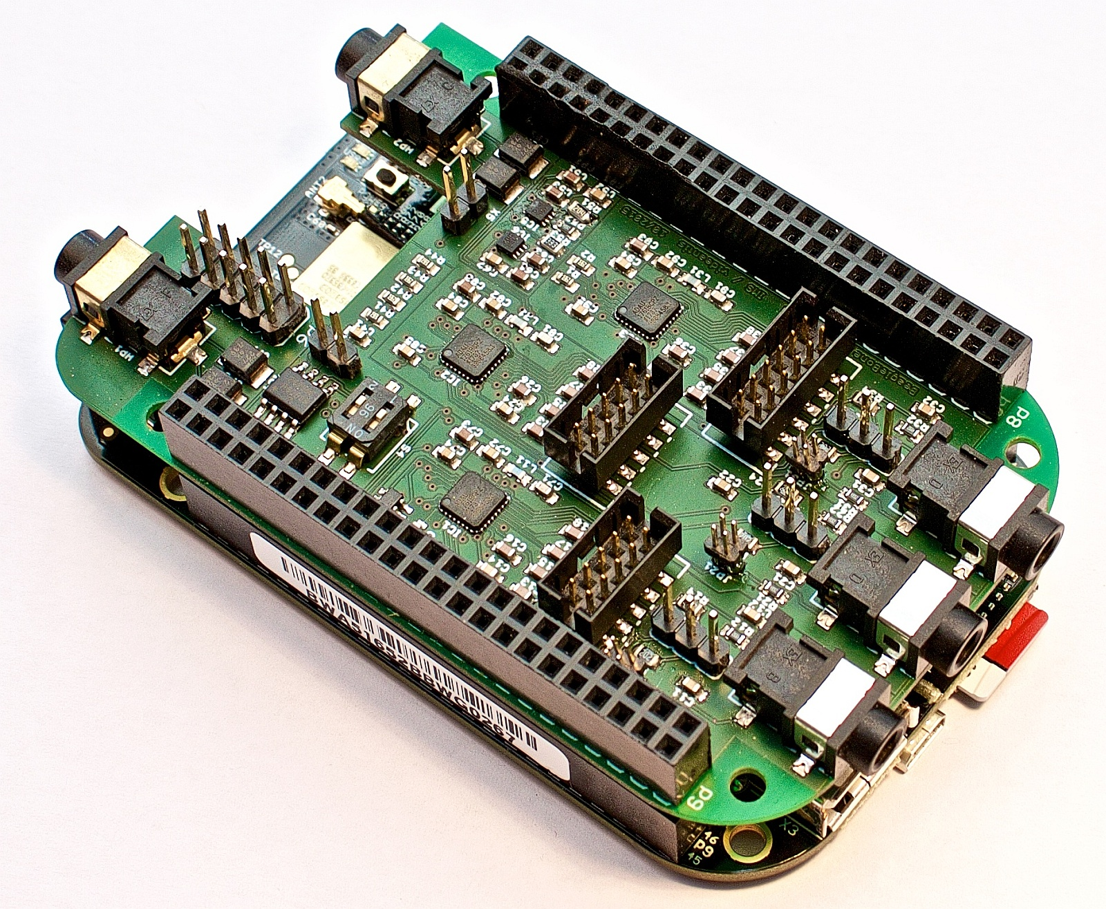 Cape4all on BeagleBone Black wireless